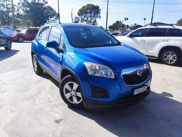 Used Holden Trax TJ MY14 LS Liverpool, 2014 Holden Trax TJ MY14 LS Blue 5 Speed Manual Wagon
