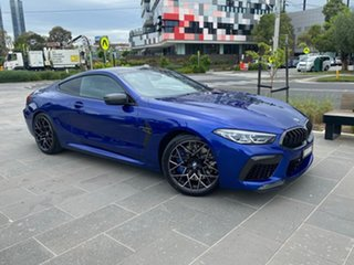 2020 BMW M8 F92 Competition M Steptronic M xDrive Blue 8 Speed Sports Automatic Coupe.