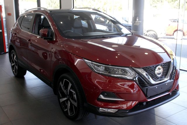 New Nissan Qashqai J11 Series 3 MY20 Ti X-tronic Newstead, 2020 Nissan Qashqai J11 Series 3 MY20 Ti X-tronic Magnetic Red 1 Speed Constant Variable Wagon
