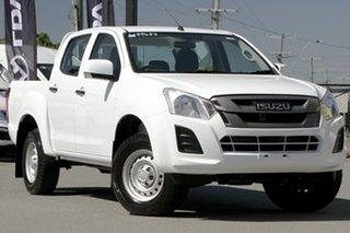2018 Isuzu D-MAX MY17 SX Crew Cab 4x2 High Ride Splash White 6 Speed Sports Automatic Utility.