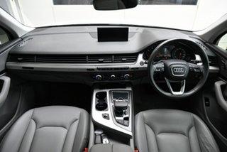 2018 Audi Q7 4M MY18 TDI Tiptronic Quattro White 8 Speed Sports Automatic Wagon.