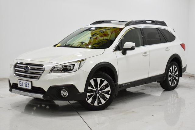 Used Subaru Outback B6A MY16 2.5i CVT AWD Premium Brooklyn, 2016 Subaru Outback B6A MY16 2.5i CVT AWD Premium White 6 Speed Constant Variable Wagon