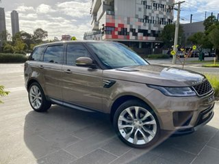 2018 Land Rover Range Rover Sport L494 18MY SE Brown 8 Speed Sports Automatic Wagon.