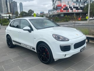 2015 Porsche Cayenne 92A MY15 Diesel Tiptronic White 8 Speed Sports Automatic Wagon