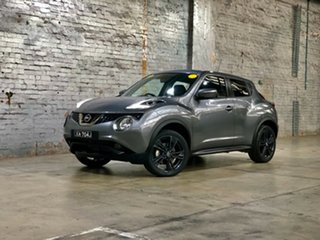 2018 Nissan Juke F15 Series 2 Ti-S X-tronic AWD Grey 1 Speed Constant Variable Hatchback.