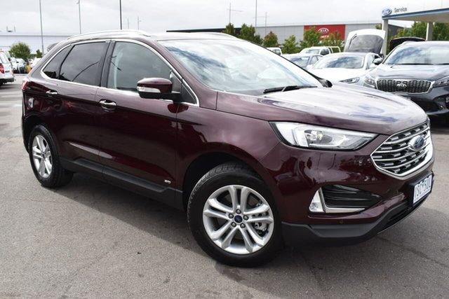 Used Ford Endura CA 2019MY Trend Essendon Fields, 2019 Ford Endura CA 2019MY Trend Red 8 Speed Sports Automatic Wagon
