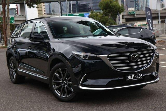 Demo Mazda CX-9 TC Azami SKYACTIV-Drive i-ACTIV AWD South Melbourne, 2020 Mazda CX-9 TC Azami SKYACTIV-Drive i-ACTIV AWD Jet Black 6 Speed Sports Automatic Wagon