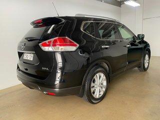 2014 Nissan X-Trail T32 ST-L (FWD) Black Continuous Variable Wagon.