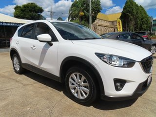 2012 Mazda CX-5 Maxx Sport (4x4) White 6 Speed Automatic Wagon.
