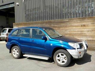 2004 Toyota RAV4 ACA23R CV Blue 5 Speed Manual Wagon.