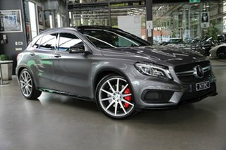 2015 Mercedes-Benz GLA-Class X156 806MY GLA45 AMG SPEEDSHIFT DCT 4MATIC Grey 7 Speed