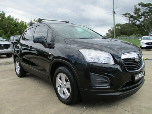 Used Holden Trax TJ MY17 LS Glendale, 2016 Holden Trax TJ MY17 LS Black 6 Speed Automatic Wagon