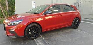 2020 Hyundai i30 PD.V4 MY21 N Line Red 7 Speed Auto Dual Clutch Hatchback
