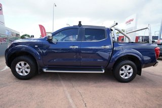 2015 Nissan Navara NP300 D23 ST (4x4) Blue 6 Speed Manual Dual Cab Utility