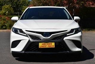 2018 Toyota Camry AXVH71R Ascent Sport White 6 Speed Constant Variable Sedan Hybrid.