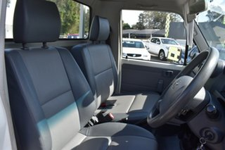 2013 Toyota Landcruiser VDJ79R MY13 Workmate White 5 Speed Manual Cab Chassis