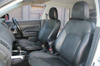 2012 Mitsubishi ASX XB MY13 Aspire (2WD) White Continuous Variable Wagon