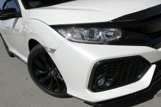 2018 Honda Civic 10th Gen MY18 VTi-L White Orchid 1 Speed Constant Variable Hatchback.