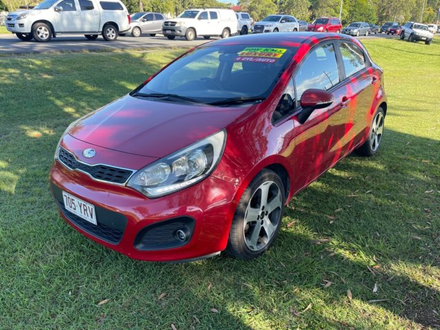 Used Kia Rio UB MY13 SLi Clontarf, 2012 Kia Rio UB MY13 SLi 6 Speed Sports Automatic Hatchback
