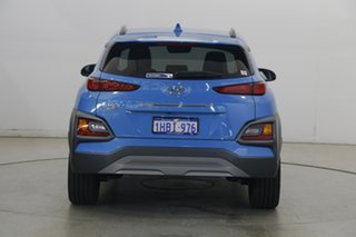 2019 Hyundai Kona OS.3 MY20 Highlander 2WD Blue Lagoon 6 Speed Sports Automatic Wagon