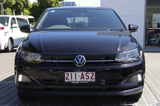 2020 Volkswagen Polo AW MY21 85TSI DSG Style Deep Black Pearl Effect 7 Speed.