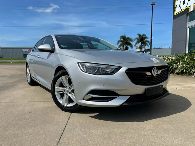Used Holden Commodore ZB MY18 LT Liftback Townsville, 2018 Holden Commodore ZB MY18 LT Liftback Silver/010518 9 Speed Sports Automatic Liftback