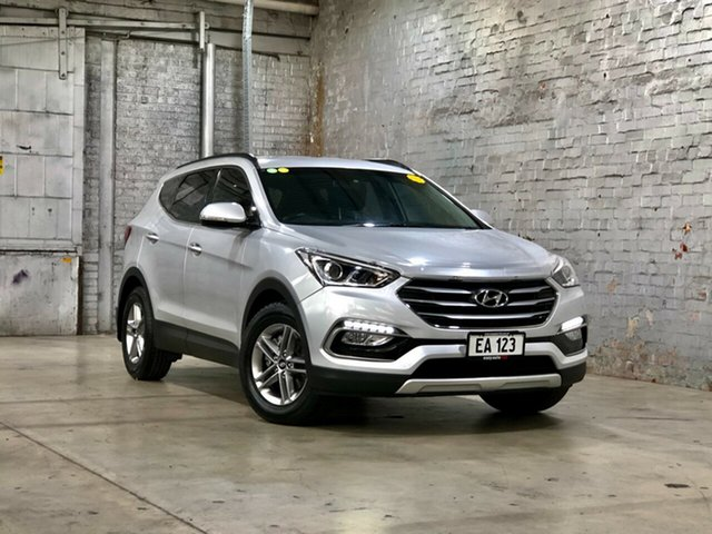 Used Hyundai Santa Fe DM3 MY17 Active Mile End South, 2016 Hyundai Santa Fe DM3 MY17 Active Silver 6 Speed Sports Automatic Wagon