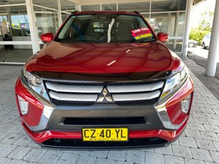 2018 Mitsubishi Eclipse Cross ES Red Constant Variable Wagon.