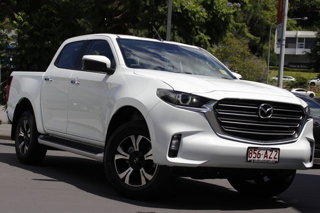 Demo Mazda BT-50 TFS40J XTR Newstead, 2020 Mazda BT-50 TFS40J XTR Ice White 6 Speed Sports Automatic Utility