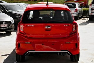 2020 Kia Picanto JA MY21 GT-Line Red 4 Speed Automatic Hatchback.