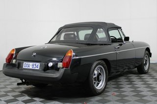 1977 MG B Mk 2 Black 4 Speed Manual Roadster.