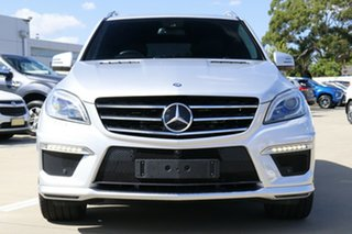 2015 Mercedes-Benz ML63 AMG 166 MY14 4x4 Silver 7 Speed Automatic Wagon