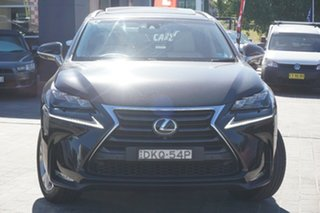 2016 Lexus NX AGZ15R NX200t AWD Sports Luxury Black 6 Speed Sports Automatic Wagon.