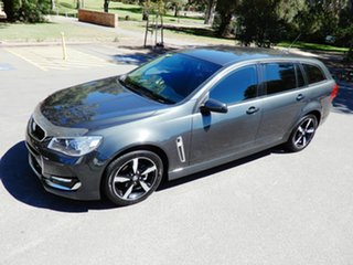 2017 Holden Commodore VF II MY17 SV6 Sportwagon Dark Grey 6 Speed Sports Automatic Wagon