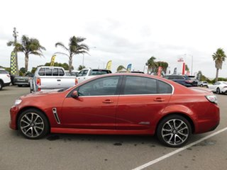 2015 Holden Commodore VF MY15 SS V Orange 6 Speed Manual Sedan