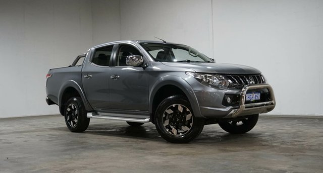 Used Mitsubishi Triton MQ MY18 Exceed Double Cab Welshpool, 2018 Mitsubishi Triton MQ MY18 Exceed Double Cab Grey 5 Speed Sports Automatic Utility