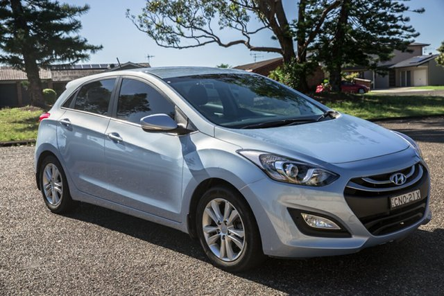 Used Hyundai i30 GD Elite Port Macquarie, 2013 Hyundai i30 GD Elite Clean Blue 6 Speed Sports Automatic Hatchback