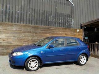 2008 Holden Viva JF MY09 Blue 4 Speed Automatic Hatchback