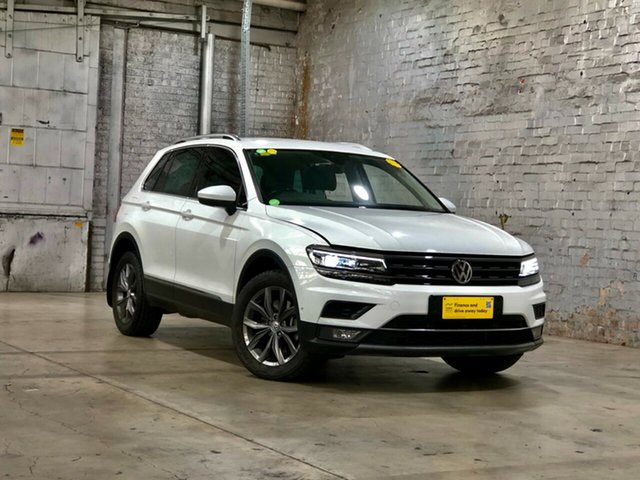 Used Volkswagen Tiguan 5N MY18 140TDI DSG 4MOTION Highline Mile End South, 2017 Volkswagen Tiguan 5N MY18 140TDI DSG 4MOTION Highline White 7 Speed