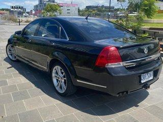 2011 Holden Caprice WM Series II V Black Sports Automatic Sedan.