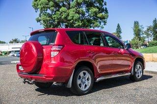 2012 Toyota RAV4 ACA38R MY12 CV 4x2 Red 5 Speed Manual Wagon