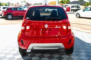 2020 Suzuki Ignis MF Series II GLX Fervent Red 1 Speed Constant Variable Hatchback.