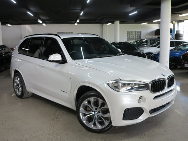 Used BMW X5 F15 sDrive25d Albion, 2014 BMW X5 F15 sDrive25d White 8 Speed Automatic Wagon