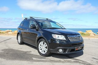 2008 Subaru Tribeca B9 MY08 R AWD Premium Pack Black 5 Speed Sports Automatic Wagon.