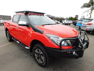 2016 Mazda BT-50 UR0YF1 XTR Red 6 Speed Sports Automatic Utility.