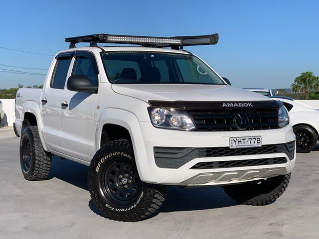 Used Volkswagen Amarok 2H MY17 TDI400 4MOT Core Liverpool, 2017 Volkswagen Amarok 2H MY17 TDI400 4MOT Core White 6 Speed Manual Utility