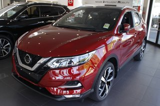 2020 Nissan Qashqai J11 Series 3 MY20 Ti X-tronic Magnetic Red 1 Speed Constant Variable Wagon