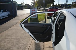 2011 Kia Cerato TD MY12 S White 6 Speed Automatic Sedan