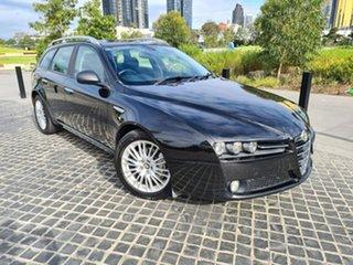 2011 Alfa Romeo 159 (No Series) JTD Ti Black Sports Automatic Wagon.