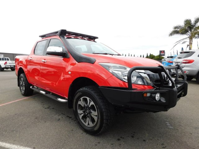 Pre-Owned Mazda BT-50 UR0YF1 XTR Wonthaggi, 2016 Mazda BT-50 UR0YF1 XTR Red 6 Speed Sports Automatic Utility